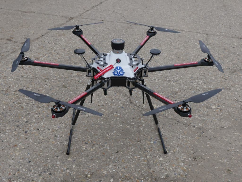 Commercial Off The Shelf Unmanned Aerial Vehicle   ISS Aerospace