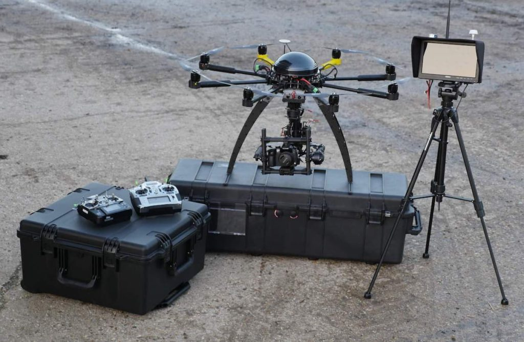 Oil and Gas sensing drone | ISS Aerospace