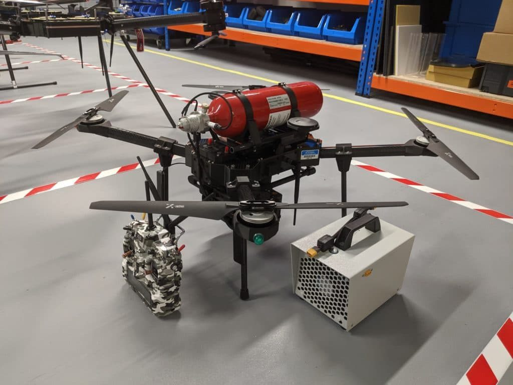 Hydrogen Fuel Cell Powered UAV