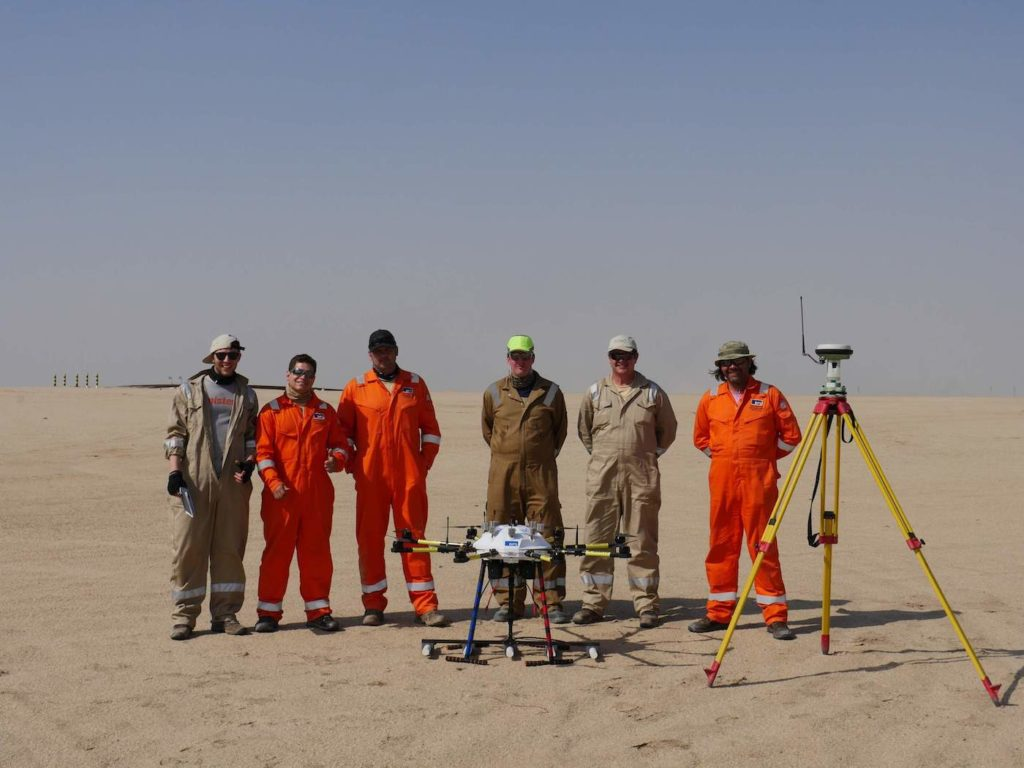 Oil and Gas Sensing Unmanned Aerial System | ISS Aerospace